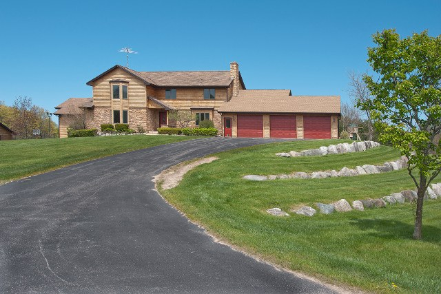 Northwest Michigan country home on 60 acres with horse facilities