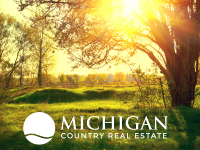 country homes on acreage in MI