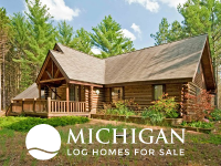 log homes for sale in Michigan
